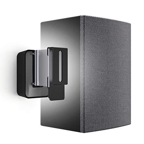 Vogel's SOUND 3200 Nero, Supporto per casse acustiche, Max 5 Kg, Inclinabile 30º e Girevole 70º, Adatto anche per Denon Home 150 (1x)