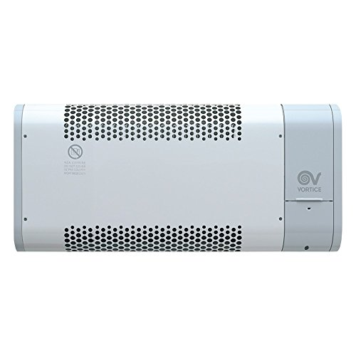 Vortice Termoventilatore Miniaturizzato da Installazione VORTICE Microrapid T 1000 V0 70661, 1000 watt