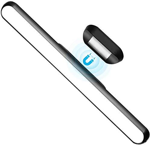 WILLED Dimmerabile Tattile Controllo Luce Armadio, Batteria USB Ricaricabile Lampada Guardaroba con Striscia 3M Magnete Montare, per Capezzale Cucina Specchio per il trucco LED Illuminazione Notturna