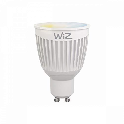 WiZ Whites lampadina LED Smart GU10 WiFi luce bianca. Dimmerabile, 64.000 tonalità di bianco. Funziona con Amazon Alexa e Google Home.