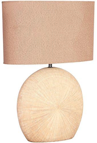 WOFI Lampada da Tavolo E27, 60 W, Marrone, 37 x 28 x 53 cm