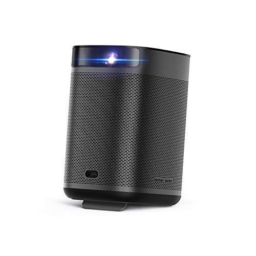 XGIMI MOGO Pro Plus Mini Proiettore , 1080P Full HD Mini Videoproiettore Portatile 300 ANSI Lumen,Android TV 9.0 Google Assistant 3D Harman / Kardon Altoparlante TV Box / PS4 / Smartphone