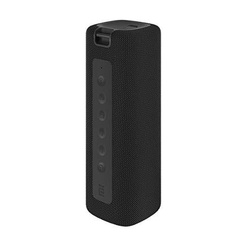 Xiaomi Mi Altoparlante Bluetooth portatile Altoparlante wireless Bluetooth, 16 W, IPX7 Impermeabile per uso esterno, TWS, 13 ore di riproduzione, microfono incorporato, antipolvere (nero)