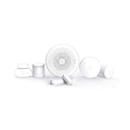 Xiaomi Mi Kit di Sicurezza, Automazione Domotica Casa, Smart Home, Versione Italiana, Compatibile con dispisitivi Mi Home, Mini telecomando, Bianco