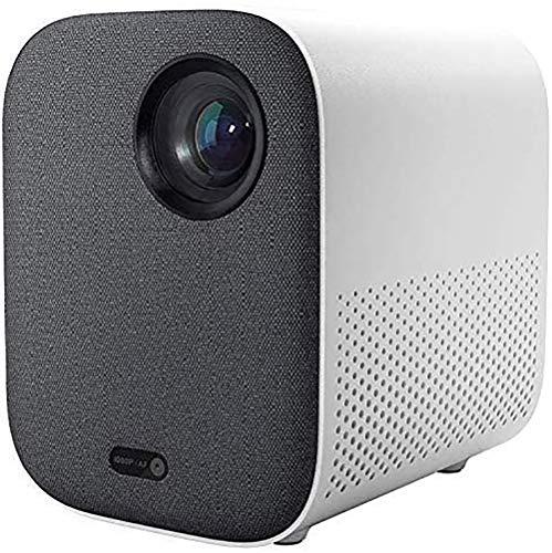 Xiaomi - Mini proiettore DLP, 1080P, Full HD, comando vocale, 500 ANSI, Video 4K, 2GB, 8GB, 2,4G / 5G, WiFi, BT, Proiettore LED portatile per Home Cinema
