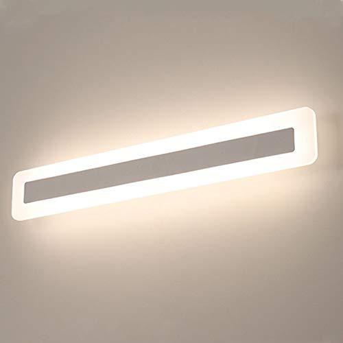 Yafido LED Lampada Specchio 14W Applique da Bagno Bianco Neutro 4000K 900LM 40CM Bagno Luce per Trucco