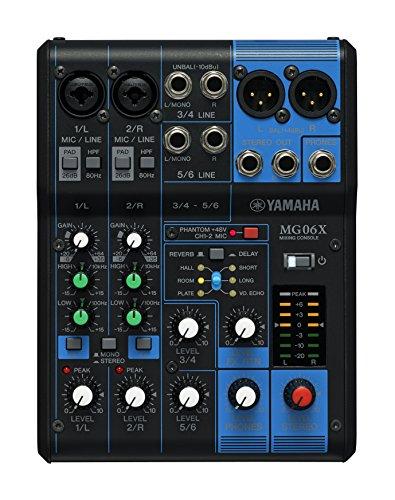Yamaha MG06X Mixer Professionale con Effetti per Live, Karaoke