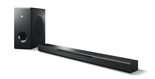 Yamaha MusicCast BAR 400 (YAS-408) Soundbar e Subwoofer – Sistema Dolby Sorround con Diffusore Centrale e Subwoofer Wireless, per Home Cinema 3D 4k – Multiroom, WiFi, Airplay, Bluetooth 4.2, Nero
