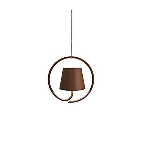 Zafferano Poldina Lampada Ricaricabile LED a Sospensione, Corpo in Alluminio, Protezione IP54, Adatta per Uso Esterno/Interno, Regolabile, Presa EU 2.2 W, Corten