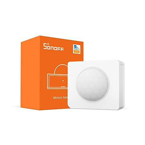 ZigBee movimento Sensore di SONOFF SNZB-03, rilevatore di movimento wireless Ricevi avvisi o spegni luci da accendere, SONOFF Zigbee Bridge richiesto, batterie incluse