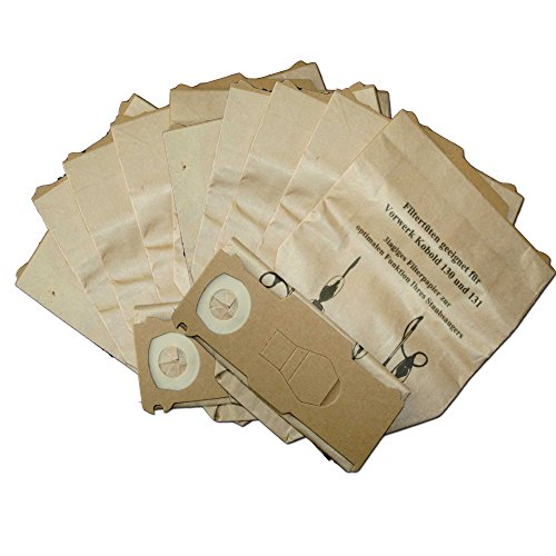 20 Sacchetti per aspirapolvere adatti per Vorwerk Folletto 130 131 131SC
