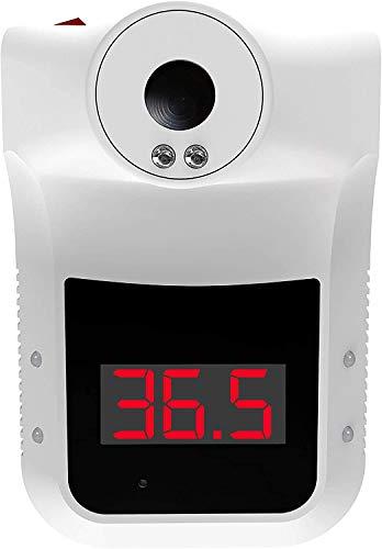 ACE - Termometro a infrarossi, senza contatto, per controllo di ingresso, versione tedesca (C°) con 5 anni di garanzia del sensore, colore: Bianco