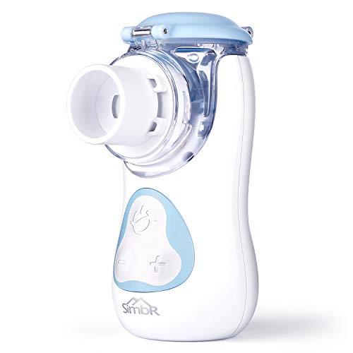 Aerosol Ultrasuoni Silenzioso,SIMBR Aerosol Portatile per i Bambini e Adulti, Ricaricabile con Cavo USB