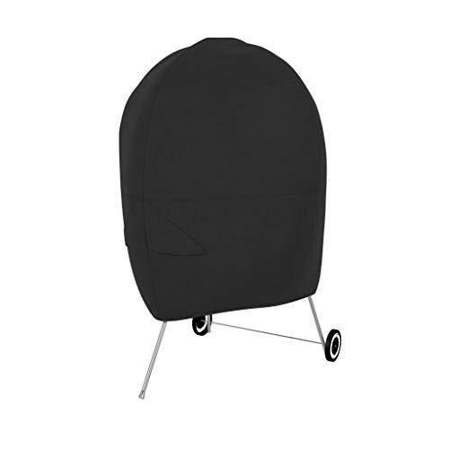 Amazon Basics - Telo protettivo per barbecue a cupola, Nero
