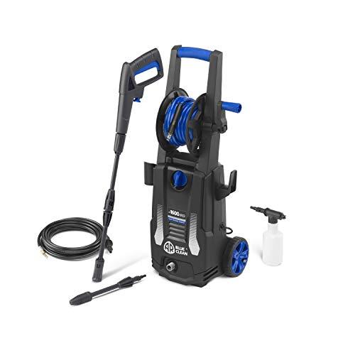 AR Blue Clean e-1600 HRD Idropulitrice ad Alta Pressione con Sturatubi (1600 W, 125 bar, 420 l/h)
