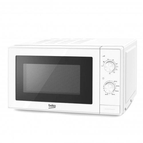 Beko Forno a Microonde MGC20100W 20L, 700 W, 20 Litri, 0 Decibel, Acciaio Inossidabile, Bianco