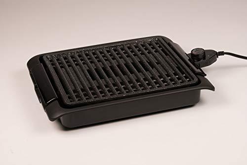 BEST DIRECT Starlyf Smokefree Grill Original Come Visto alla TV Griglia No Fumo Carne e Verdure Grigliate Set Piastra Extra Cucina Barbecue (Griglia Elettrica)