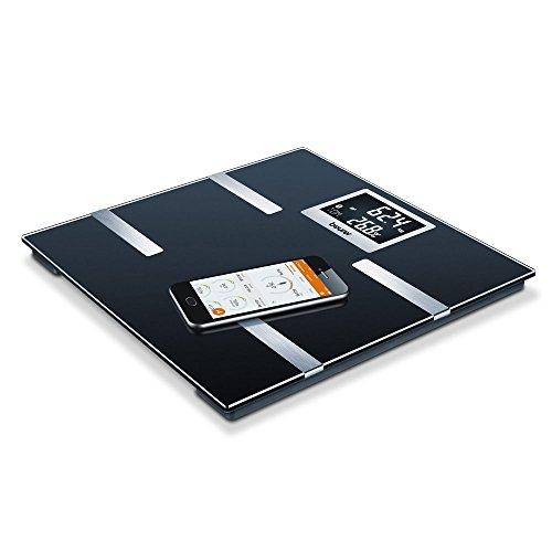 Beurer BF 700 Bilancia Diagnostica con Bluetooth, Nero, plastica, lcd