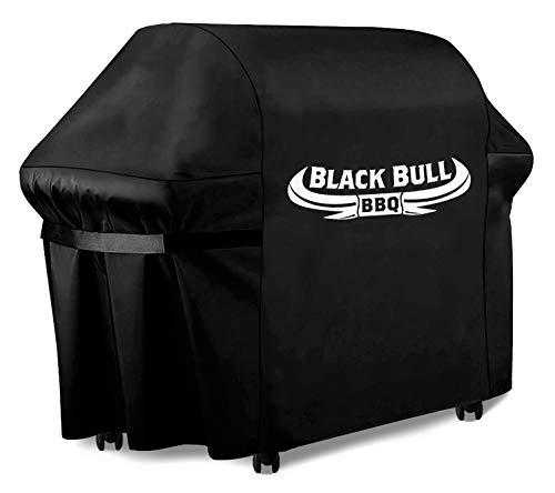 Black Bull BBQ - Copertura barbecue universale [122 x 61 x 147cm] - Copri barbecue - Telo bar-becue resistente alle intemperie e impermeabile [100%]