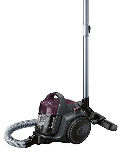 Bosch BGC05AAA1, Basic, Aspirapolvere a Carrello Senza Sacco, 700 W, 1.5 Litri, 78 Decibel, Plastica, Viola / grigio