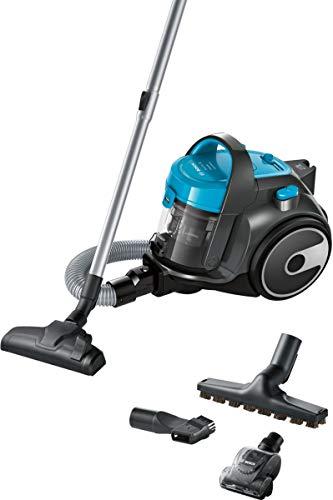 Bosch BGS05X240 GS05 Cleann'n Aspirapolvere Senza Sacco, 700 W, Turquoise, Basic + 3 Accessori