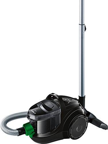 Bosch Elettrodomestico BGS1UECO2 Aspirapolvere a Carrello Senza Sacco, 550 W, 79 Decibel