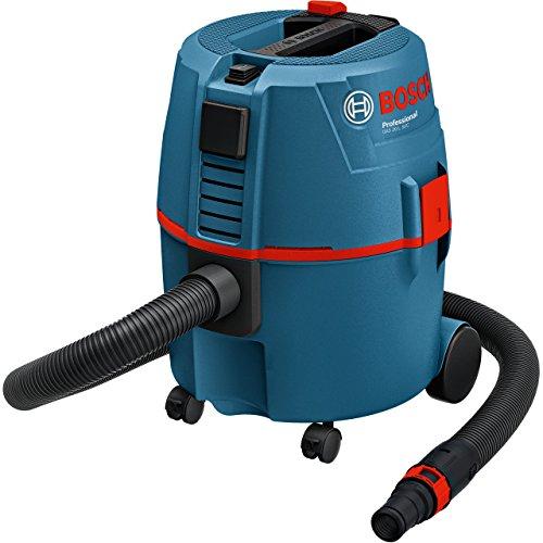 Bosch Professional 060197B000 Aspiratore a Umido/Secco Gas, Volume Contenitore 20 l, 1200 W, 230 V, Nero, Blu, Rosso, Serbatoio 20 litri