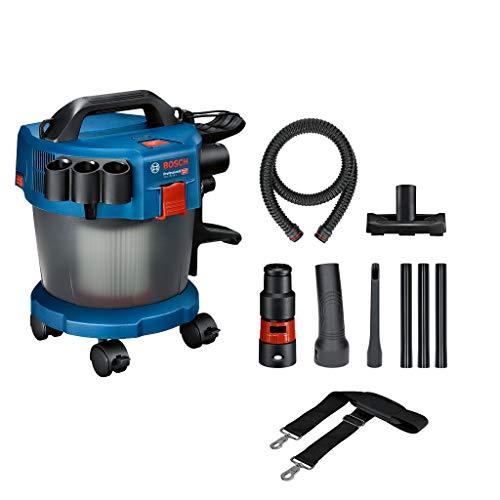 Bosch Professional 06019C6302 Aspiratore Industriale Gas 18V-10 L System, Batteria Non Inclusi, Tubo Flessibile 1.6 m, 3 Tubi di Prolunga, Confezione in Cartone, 18 V