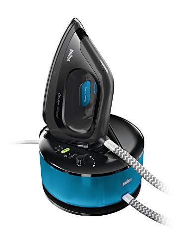 Braun CareStyle Compact IS2055BK Ferro da Stiro a Caldaia, Blu/Nero