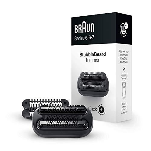 Braun EasyClick Accessorio Rifinitore Effetto Barba Incolta per Rasoio Elettrico Series 5, 6 e 7