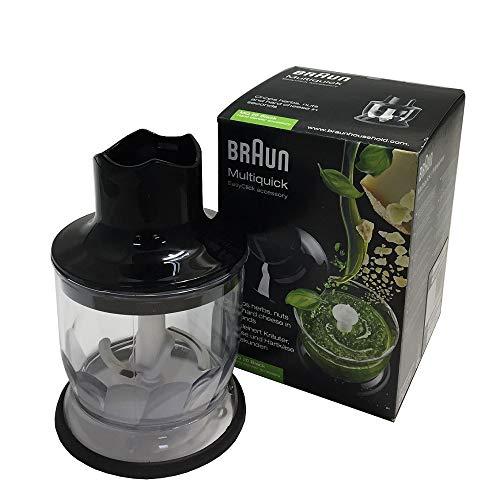 Braun MQ20 Accessorio Mini Tritatutto per Minipimer, Nero