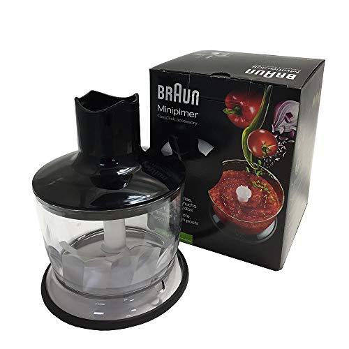 Braun MQ30 Accessorio Tritatutto per Minipimer, 500 ml, Nero