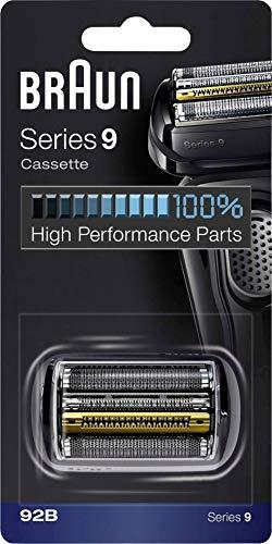 Braun Series 9 92B Testina Di Ricambio Per Rasoio Elettrico Uomo, Nero, Compatibile Con I Rasoi Series 9