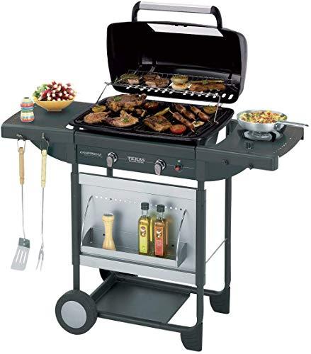 Campingaz Texas Revolution Grill Barbecue a Gas, Nero