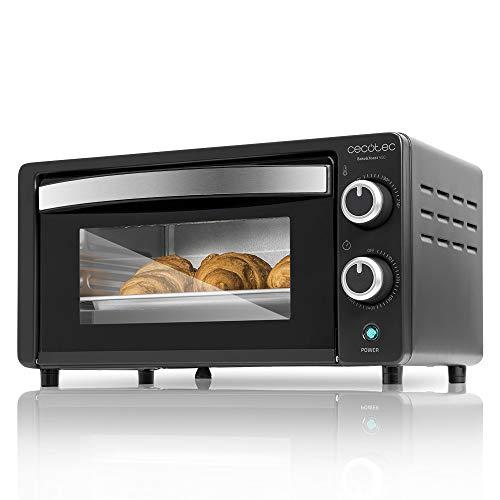 Cecotec - Bake&Toast, Forno elettrico da tavolo, capacità di 10 litri 450 Nero