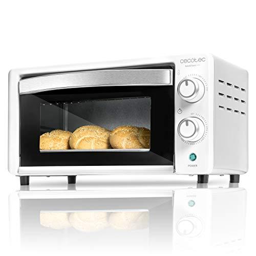 Cecotec - Bake&Toast, Forno elettrico da tavolo, capacità di 10 litri 490 bianco