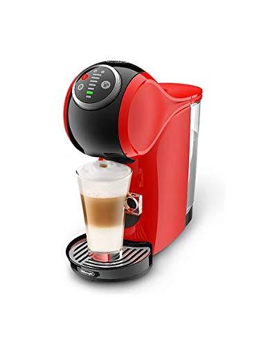 DELONGHI Dolce Gusto Genio Plus Line EDG315.R Macchina da caffè automatica a capsule, 15 bar di pressione, rosso