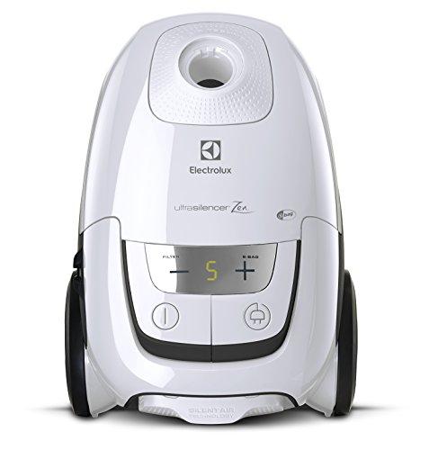 Electrolux EUS8ARLGY Aspirapolvere con Sacco Ultrasilencer, 750 W , 3.5 Litri, 58 Decibel, Bianco