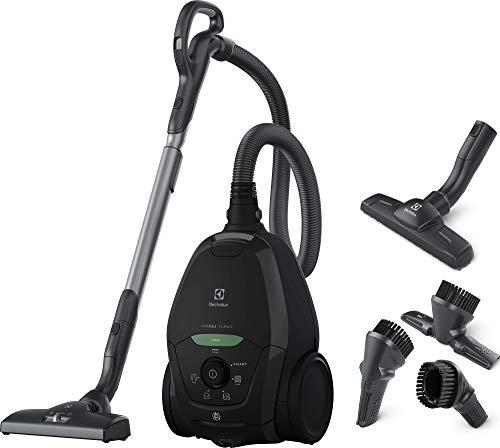 Electrolux PD82-GREEN Aspirapolvere con Sacco, Potenza max 600 W, Sistema Aspirazione AeroPro, 2 spazzole, Accessorio 3in1