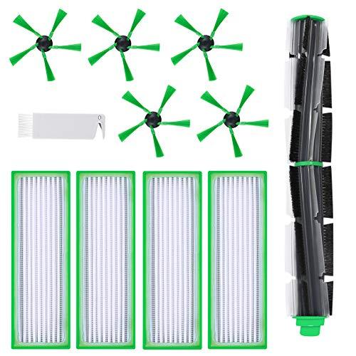 Elscop 11 accessori spazzola rotonda filtro spazzole laterali ricambio per robot aspirapolvere Vorwerk Folletto VR200 VR300