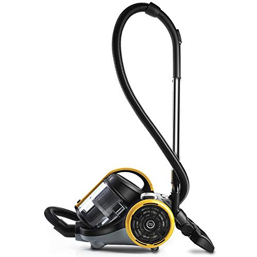 Forzaspira C115_ più ciclonico Aspirapolvere senza sacchetto giallo 800W