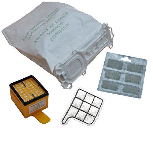 FSProdukte - 12 sacchetti per aspirapolvere, in tessuto non tessuto, con filtro igienico, filtro protettivo per motorino, per modelli Vorwerk - Kobold 135 / 136 / 135SC / VK135 / VK136