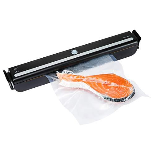 GERYON E1600 Macchina per sottovuoto, sigillatrice automatica per alimenti con kit di base di rullo per sottovuoto, sacchetto sottovuoto e tubo sottovuoto per la conservazione degli alimenti
