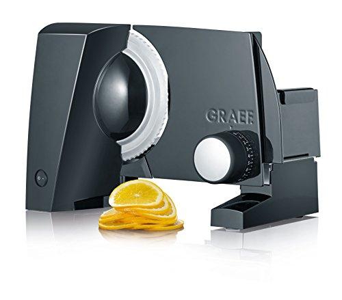 Graef S 10002 Elettrico 170W Alluminio Nero affettatrice