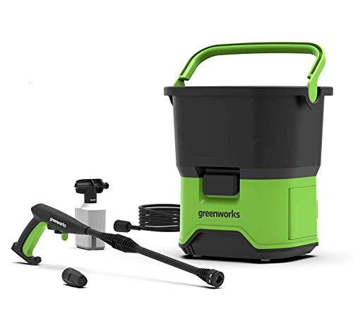 Greenworks 5104507gdc4040V DC hochdruckreiniger (senza batteria e caricatore), 40V, Green