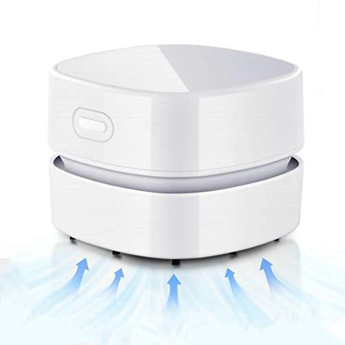 GuDoQi Mini Aspirapolvere da Tavolo, USB Ricaricabile, 90 Minuti di Autonomia, Ruotabile a 360°, Aspirapolvere Polvere Senza Fili Portatile per Casa Scuola Ufficio Tastiera