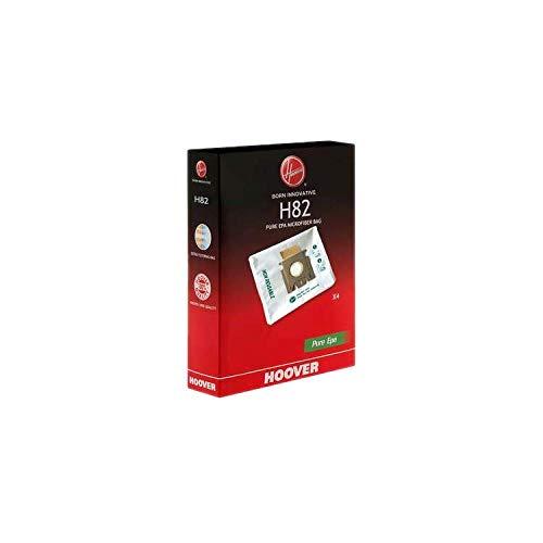Hoover 35602146 H82 PureHepa Microfiber Dust Bags-4 Pack, Sacchetti aspirapolvere, Microfibra, Misto