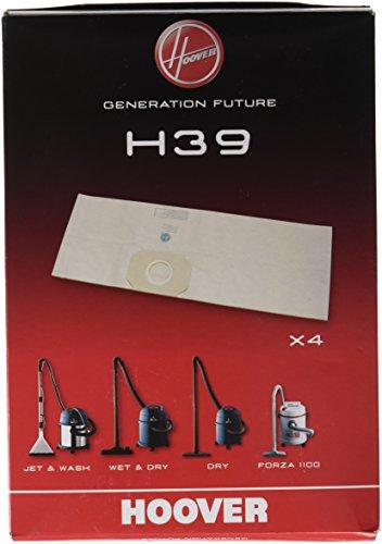 Hoover H39 Disposable Bags x4 - Sacchetti per Aspirapolvere