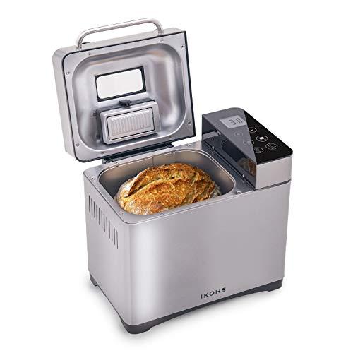 IKOHS DEPAN 710-IK - Macchina per il pane (Grigio)