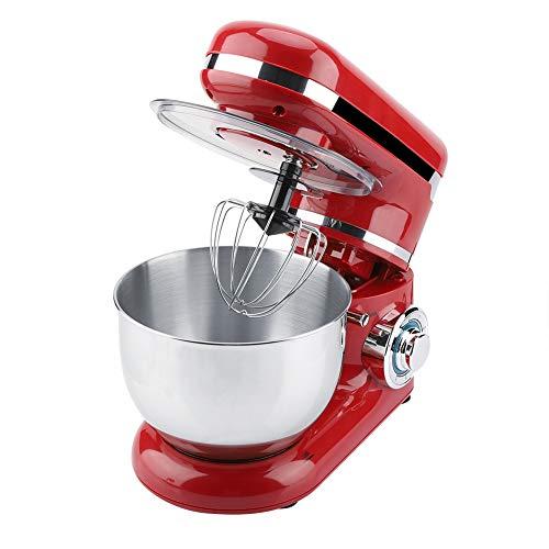 Impastatrice Planetaria Professionale Robot da Cucina Multifunzione 1200W, Capacità 4 litri Robot da Cucina con Testa Inclinabile e Frusta Piatta per Condimenti Glassa Meringhe e Altro(io)